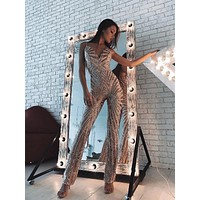 Liolika Fashion Sequined Jumpsuit