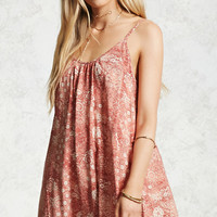 Mandala Print Cami Dress