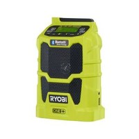 Ryobi, ONE+ 18-Volt Compact Radio with Bluetooth Wireless Technology (Tool-Only), P742 at The Home Depot - Mobile