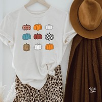 Miss Matched Pumpkin Patch T-Shirt