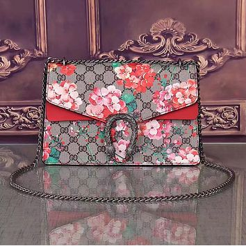Gucci Women Leather Shoulder Bag Crossbody Satchel-19