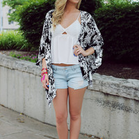 Day and Night Kimono