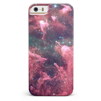 Crimson Nebula iPhone 5/5s or SE INK-Fuzed Case