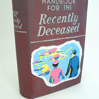Beetlejuice Handbook for the Recently Deceased book shaped box