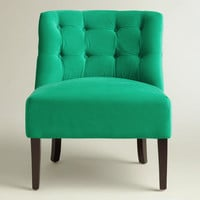 Emerald Green Lindsey Chair
