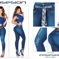 100%  Authentic Colombian  Push Up Jeans  8995  by Posesion (R)