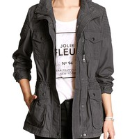 Banana Republic Womens Factory Ripstop Jacket