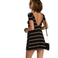 Black Striped Out Tunic