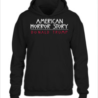 the real american horror story donald trump - UNISEX HOODIE