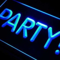 Party! Neon Sign (LED)