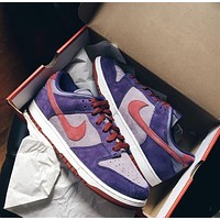 Nike Dunk Low Plum casual all-match sports running shoes
