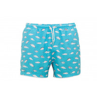 Bermies Trunks Deep Sea Fishing Blue