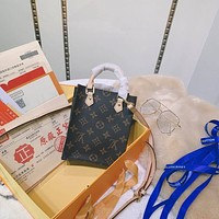 LV Louis Vuitton Women's Leather Shoulder Bag LV Tote LV Handbag LV Shopping Bag LV Messenger Bags