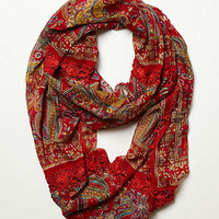 Anthropologie - Crochet Paisley Scarf