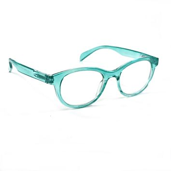 NWT Retro Reading Glasses Classic Tracy Smart Women Style Spring Hinge Frame