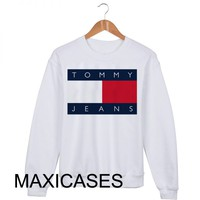 UO Exclusive Tommy Jeans logo Sweatshirt Sweater Unisex Adults size S
