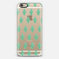 WATERCOLOR CACTUS iPhone 6 case by Sara Moore | Casetify