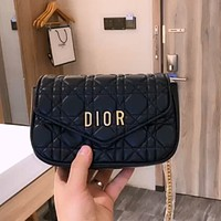 Dior Women's Retro Joker Chain Bag Shoulder Crossbody Bag