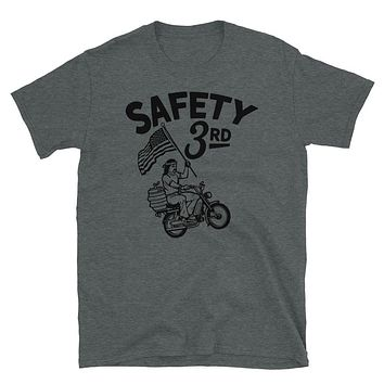 Safety 3rd Graphic Heather Tee