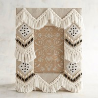 Tribal Tassel 4x6 Photo Frame