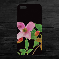Clematis iPhone 4 and 5 Case