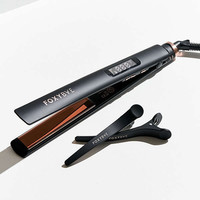 Foxybae Rose Gold Tres Sleek Flat Iron   Urban Outfitters