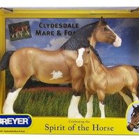 Breyer Clydesdale Mare And Foal