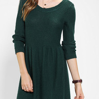 BDG Fit & Flare Sweater Dress - Urban Outfitters