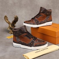 lv louis vuitton womans mens 2020 new fashion casual shoes sneaker sport running shoes 145
