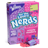 Wonka Grape and Strawberry Nerds Candy: 12-Ounce Giant Box
