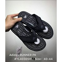 Adidas RUNNER PK 2018 New Men's Summer Casual Flip Flops F-CSXY Black