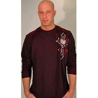 Affliction Damma Reversible Thermal Red