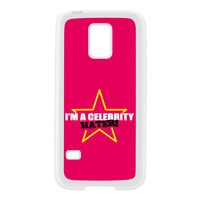 Celebrity Hater White Silicon Rubber Case for Galaxy S5 Mini by Chargrilled