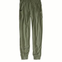 AEO Women's Don't Ask Why Soft Pant (Olive)