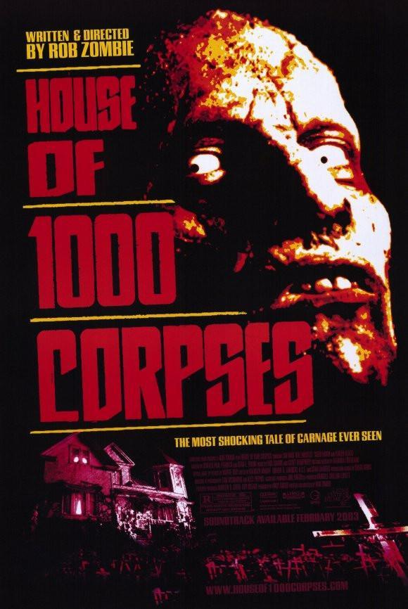 Image of House of 1000 Corpses 11x17 Movie Poster (2003)