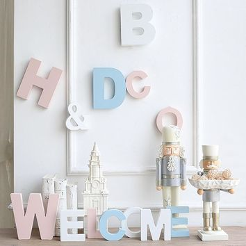 English Alphabet letters for nursery