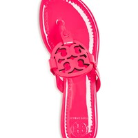 Tory Burch Miller Patent Leather Thong Sandals | Bloomingdales's