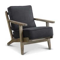 Ryder Accent Chair - ANTIQUE WOOD
