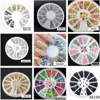 Assorted Nail Art Wheel