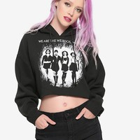 The Craft Weirdos Cropped Girls Hoodie