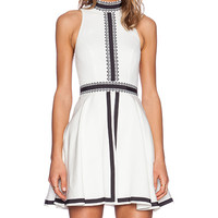 Sass & Bide Imagined Futures Dress in Ivory