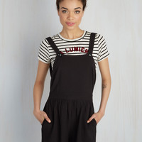 Great Time Overall Romper | Mod Retro Vintage Shorts | ModCloth.com