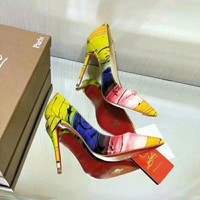 Christian Louboutin So Kate Pointy Toe Pump ultra rose patent