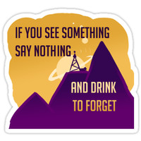 Welcome To Night Vale -Drink to Forget by irishowl