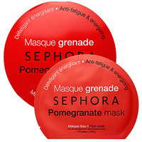 SEPHORA COLLECTION Pomegranate mask - Anti-fatigue & energizing (0.84 oz)