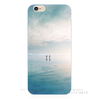 Painting Beautiful Scenery Elk Silicon Phone Shell Cover Case For Apple iPhone 5 5s SE