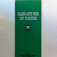 Vintage San Francisco Golden Gate Map by jumpinginfountains