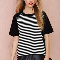 Get In Line Knit Tee
