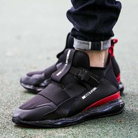 ESBON3A VAWA Puma MCQ CELL MID Casual Shoes 360519 Sneaker Black Red