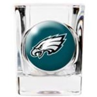 Personalized NFL Shot Glass - Eagles